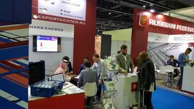 "ООО НПП ""Марс-Энерго""  на выставке Middle East Electricity 2018 в Дубае (ОАЭ)"